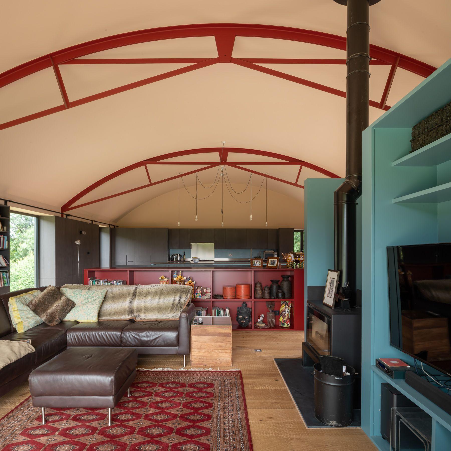 Dutch Barn by Sandy Rendel Architects. Copyright Jim Stephenson 2019