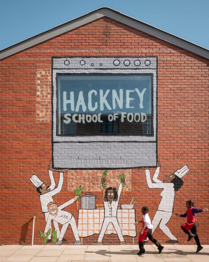 Hackney School of Food by Surman Weston. Copyright Jim Stephenson 2020